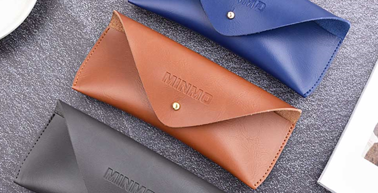 ray ban leather case