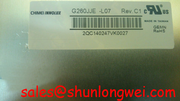 You are currently viewing Chimei G260JJE-L07