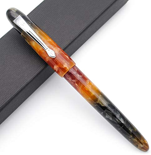 Read more about the article JINHAO 200 Acrylic Fountain Pen (Amber, Fine Nib)