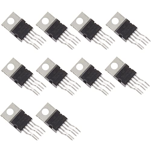 Read more about the article Bridgold 10pcs TDA2030A TDA2030 Hi-Fi Audio Power Amplifier Short Circuit Protection, AB,18W,5-Pin